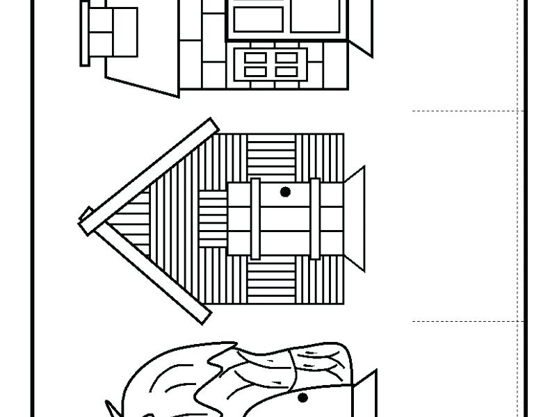 791x600 Coloring Pages Of Houses