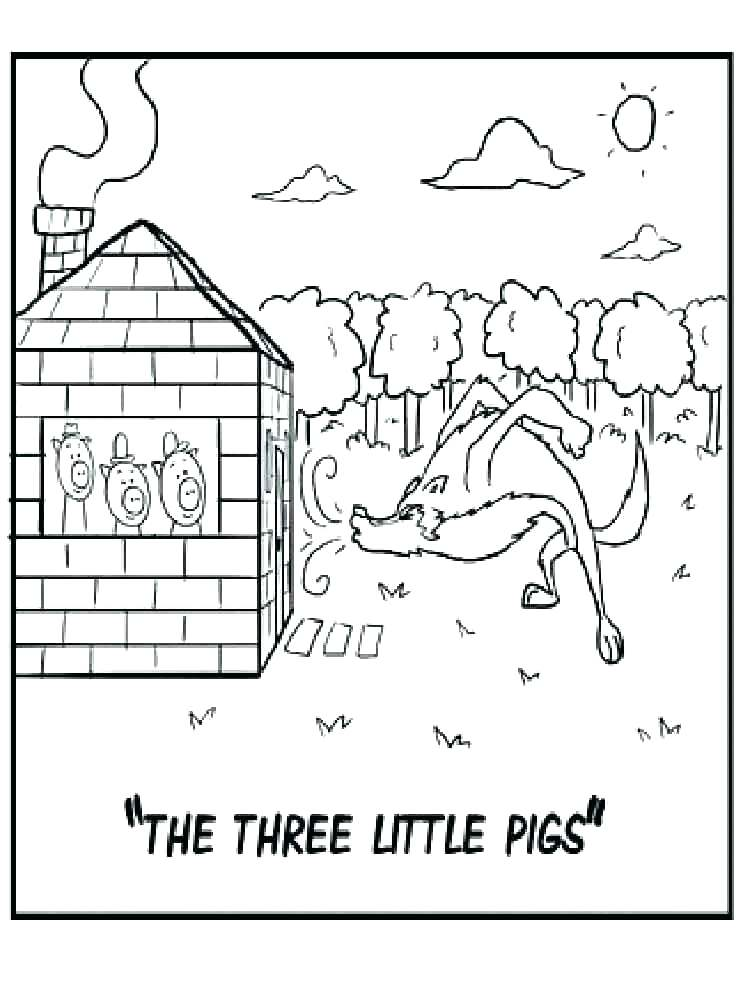 750x1000 Little Pigs Coloring Pages Epic Little Pigs Coloring Page Free