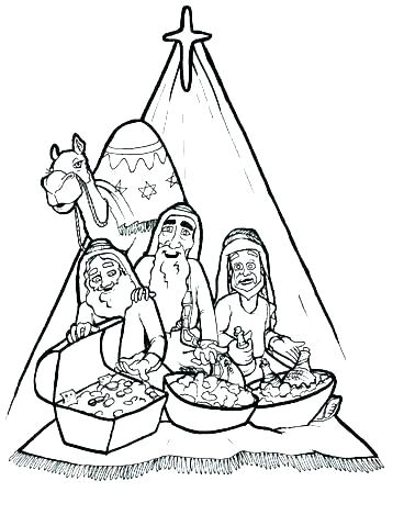 368x479 Three Kings Coloring Pages Three Kings Coloring Pages Three Kings