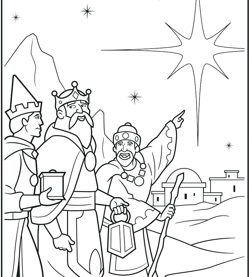 810x900 Three Wise Men Coloring Page Three Wise Men Coloring Pages