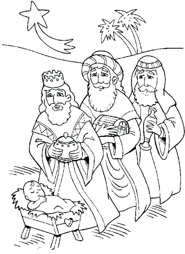 600x825 Advent Coloring Pages Wise Men Coloring Page Advent And Three Wise