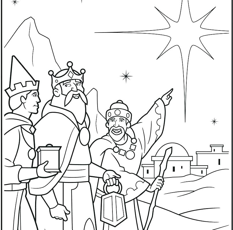 810x800 Wise Man Foolish Man Coloring Page Three Wise Men Coloring Pages