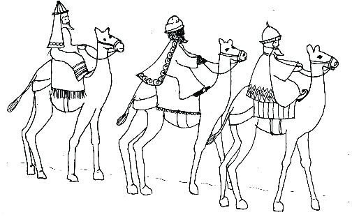 504x311 Coloring Wisemen Coloring Pages Three Wise Men Pictures For Boys