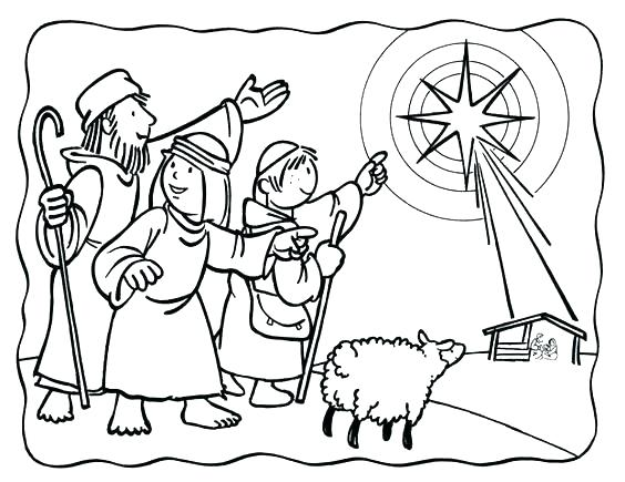 564x435 Printable Nativity Coloring Pages Three Wise Men Coloring Pages