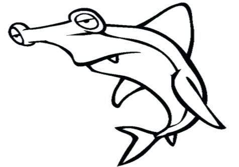 476x333 Hammerhead Shark Coloring Page Sharks Coloring Pages Great White