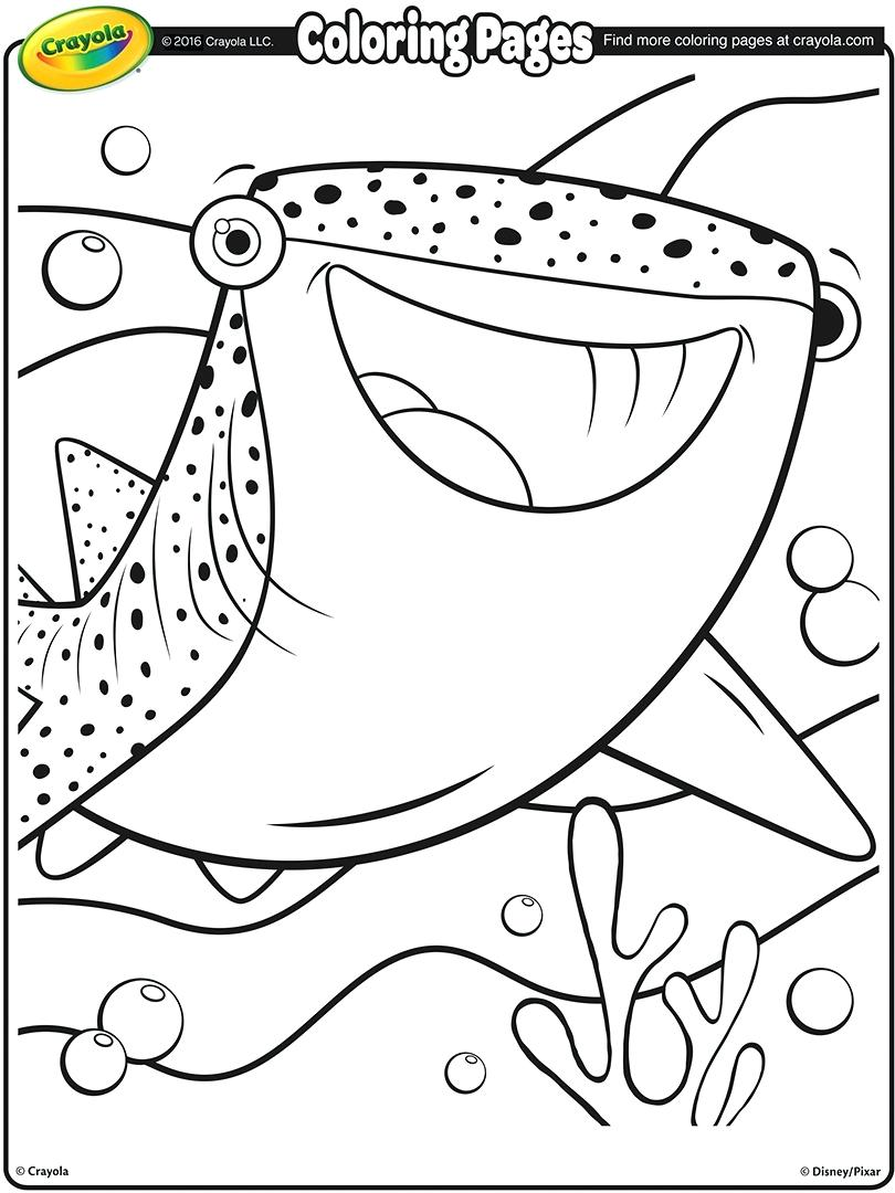 810x1080 Coloring Page Of A Shark Shark Coloring Pages Goblin Shark