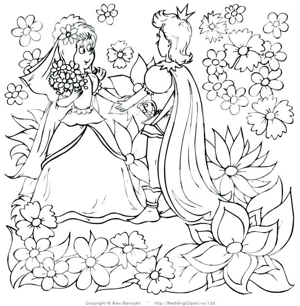 618x630 Close Up Coloring Pages Sheets Barbie Free Barbie Wedding Black