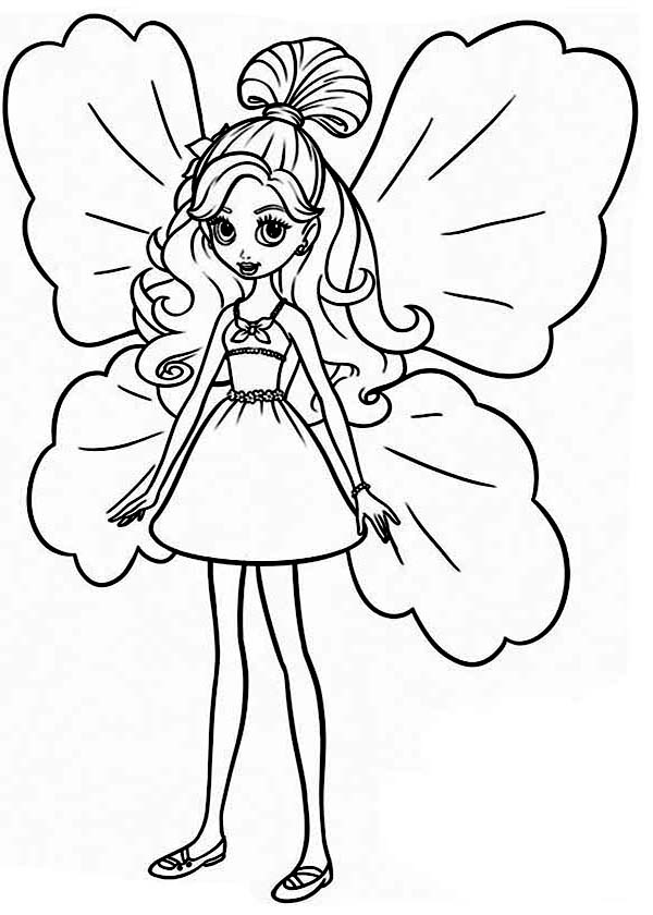 600x840 Astonishing Thumbelina Coloring Pages Preschool To Sweet Barbie
