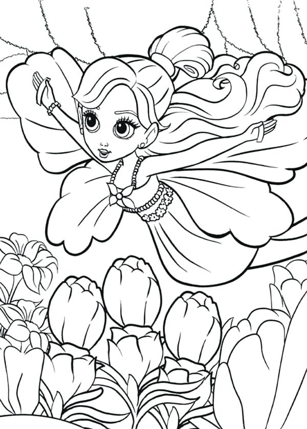 600x840 Thumbelina Coloring Pages Barbie Is Flying Coloring Pages Barbie
