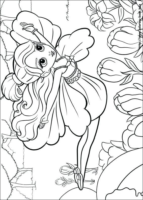 567x794 Thumbelina Coloring Pages Coloring Page Coloring Pages To Print