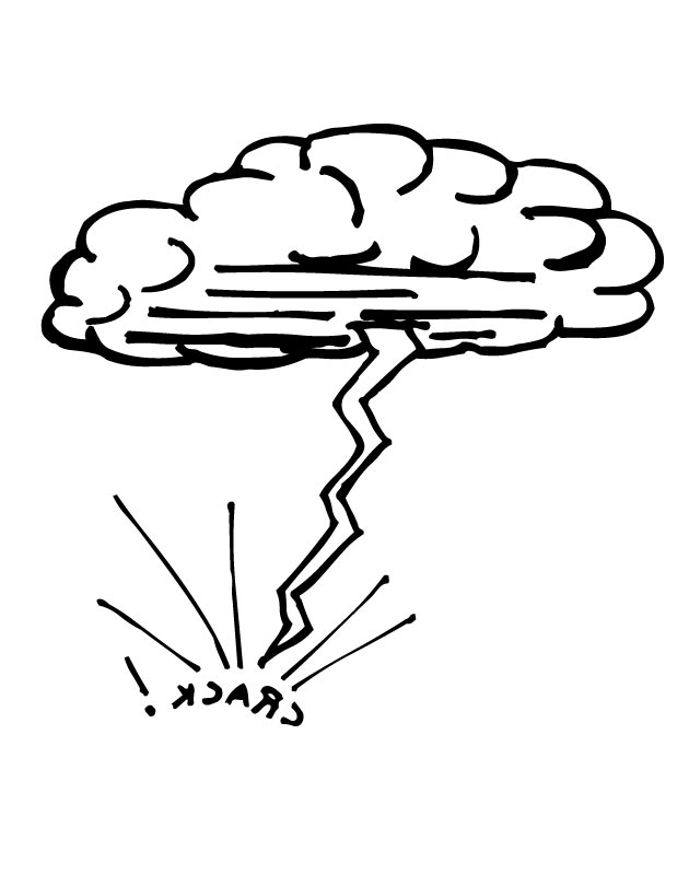 630x810 Lightning Coloring Page Thunder And Lightning Colouring Pages