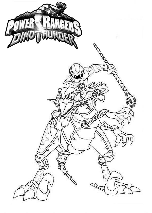 600x840 Coloring Pages Of Power Rangers Dino Thunder Coloring Page Zone