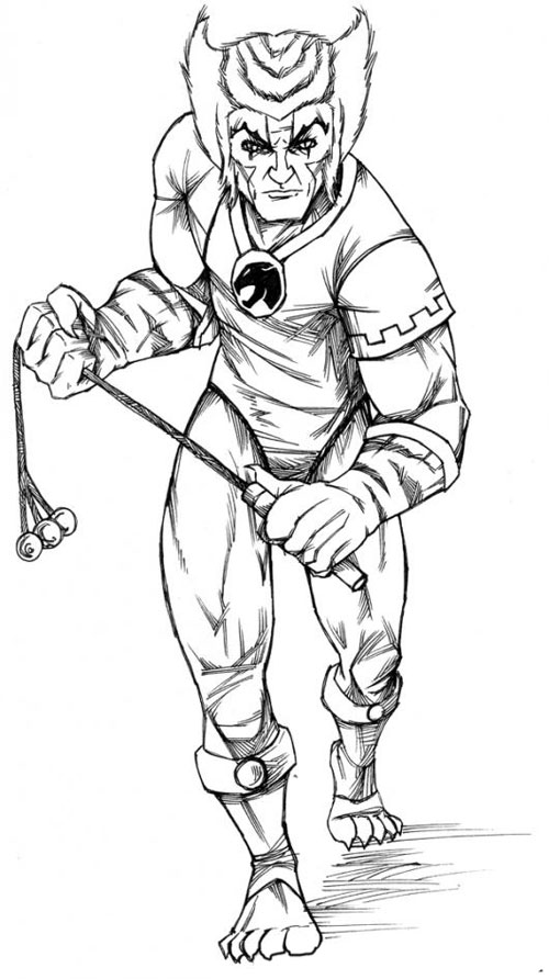500x892 Thundercats Coloring Pages Books With Regard