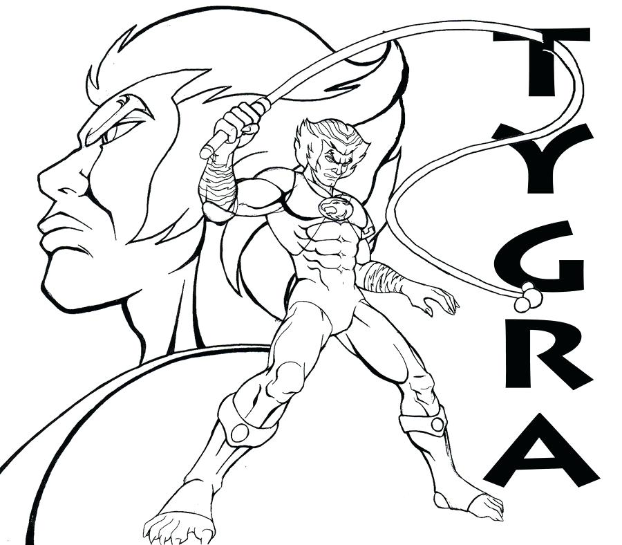 900x788 Thundercats Coloring Pages