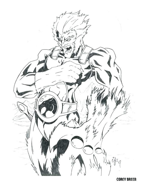 576x720 Thundercats Coloring Pages Lion O Coloring Collection