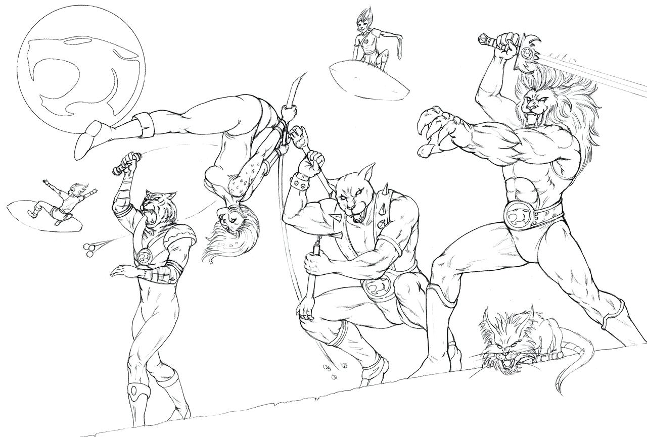 1280x865 Coloring Pages Thundercats To Print Books Download For Best
