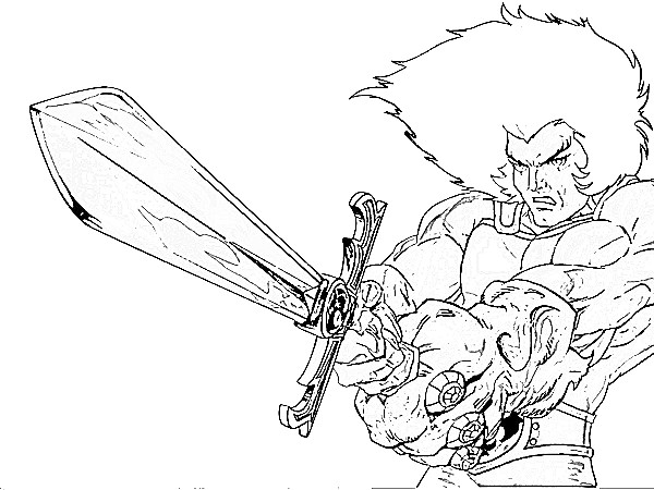 600x450 Thundercats Coloring Pages To Print Thundercats Coloring Pages