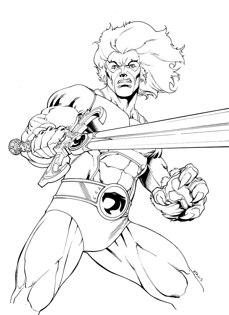 900x1238 Mesmerizing Thundercats Coloring Pages