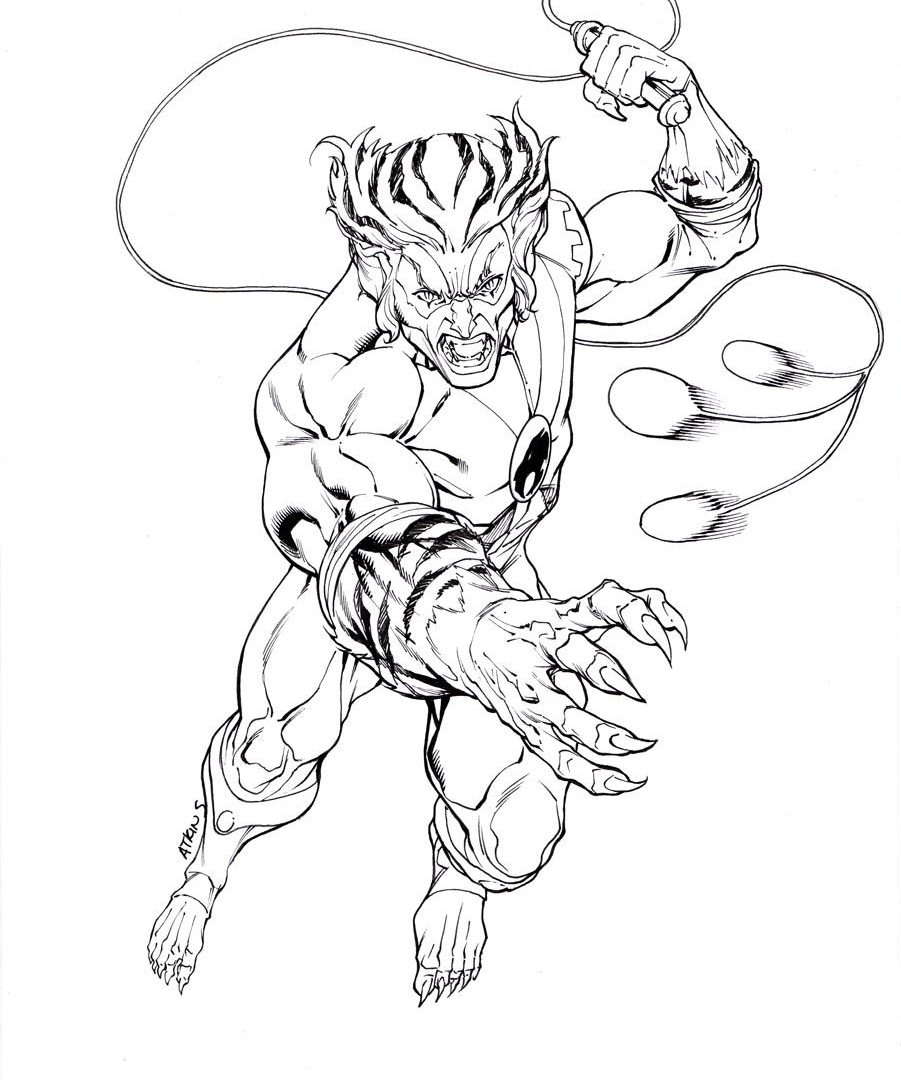 901x1080 Thunder Cats Coloring Book Pages Thundercats Images