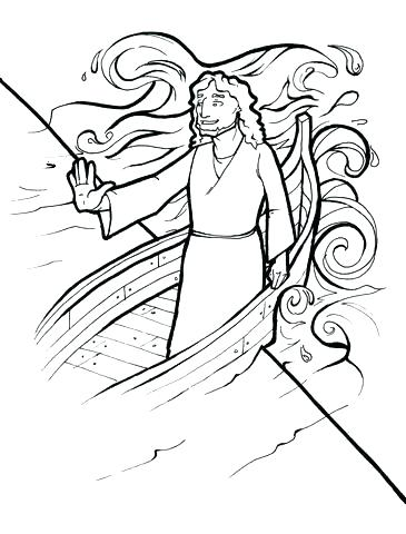 365x480 Storm Coloring Pages Creative Coloring Page Calms The Storm Free