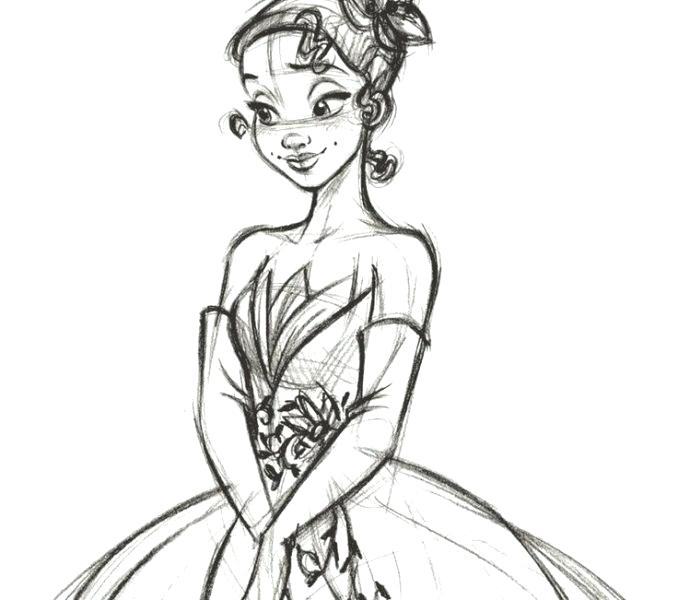 Tiana Coloring Pages At Getdrawings Free Download