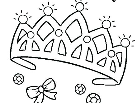 440x330 Princess Crown Coloring Page Princess Crown Coloring Page Princess