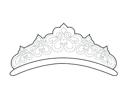 440x330 Tiara Coloring Pages Crown Coloring Pages Free Coloring Free
