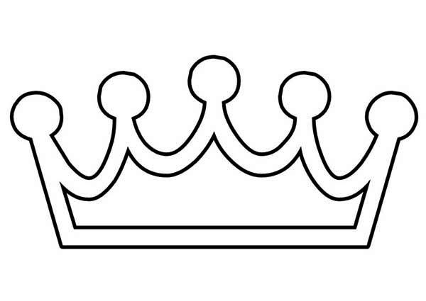 600x425 Tiara Coloring Pages Princess Crown Printable
