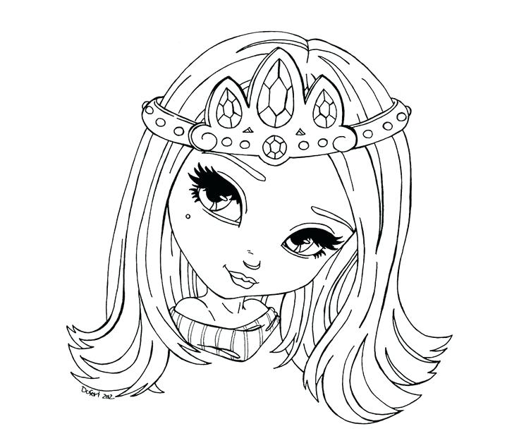 736x618 Tiara Coloring Pages To Print Coloring Collection