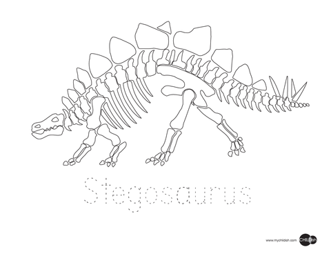 480x371 Dinosaur Printable Coloring Pages Childish