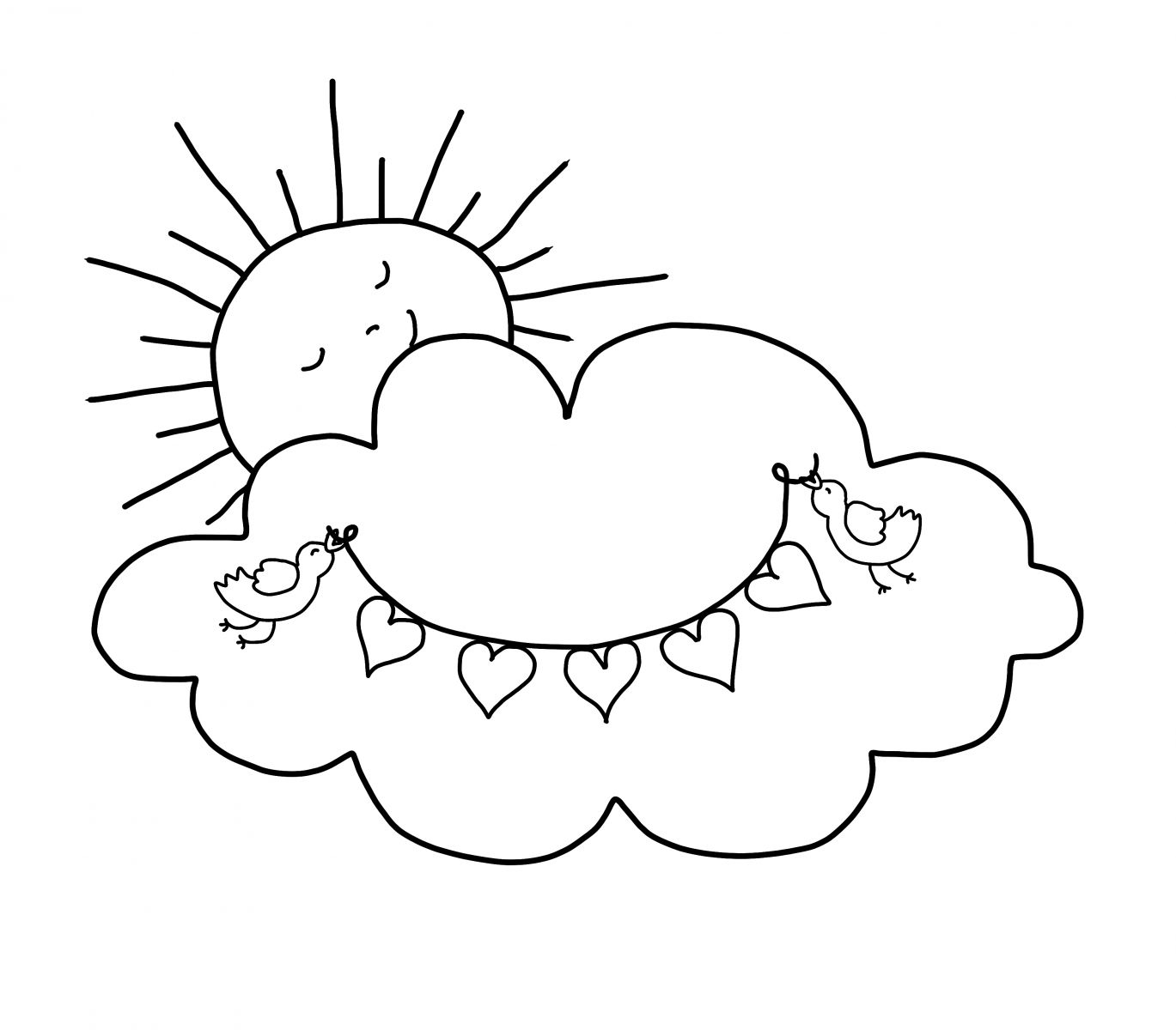 1369x1200 Free Valentine Coloring Pages