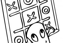 220x150 Tic Tac Toe Printable Coloring Page