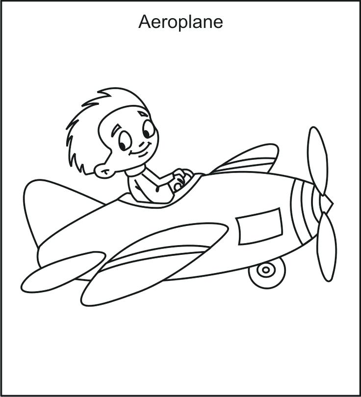 736x810 Airplane Coloring Sheet Airplane Coloring Pages To Print For Free