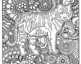 340x270 Fox Coloring Page Coloring Book Pages Printable Adult