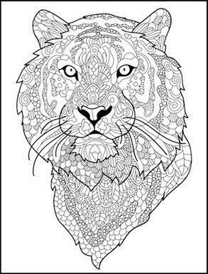 293x385 Image Result For Adult Coloring Pages Printable Tiger Coloring