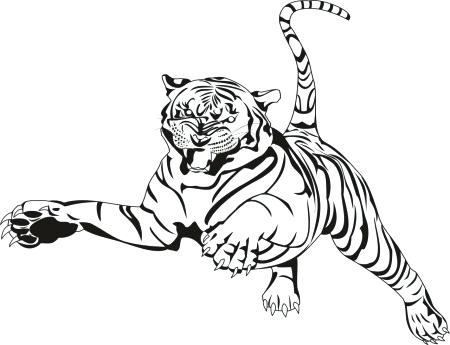 450x345 Tiger Printable Coloring Pages Tiger Coloring Pages Printable Baby