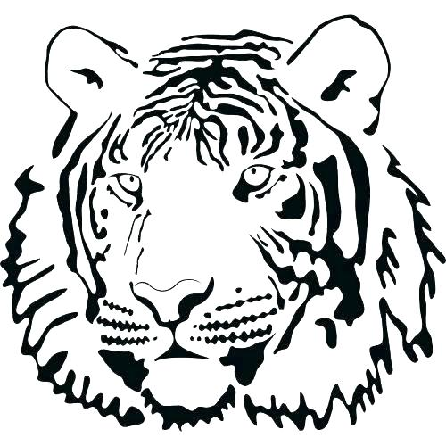 500x500 Coloring Pages Of Tigers Coloring Pages Coloring Pages Tiger