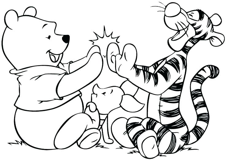 736x523 Daniel Tiger Coloring Page Tiger Coloring Pages Tiger With Cute