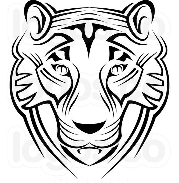600x612 Tiger Face Coloring Pages Free Coloring Pages