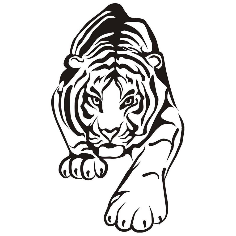1000x1000 Tiger Face Coloring Pages Acpra