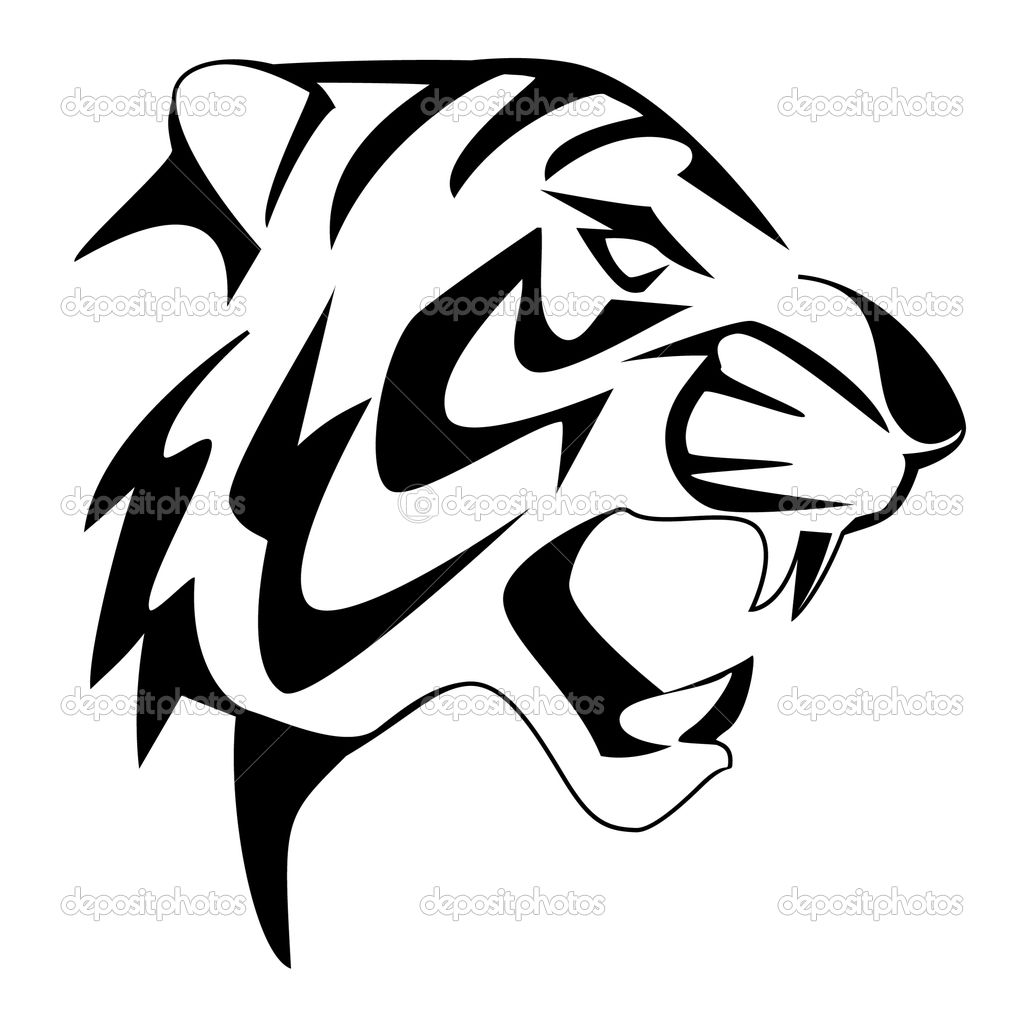 1024x1009 Tiger Face Coloring Pages Tiger Face Coloring Page