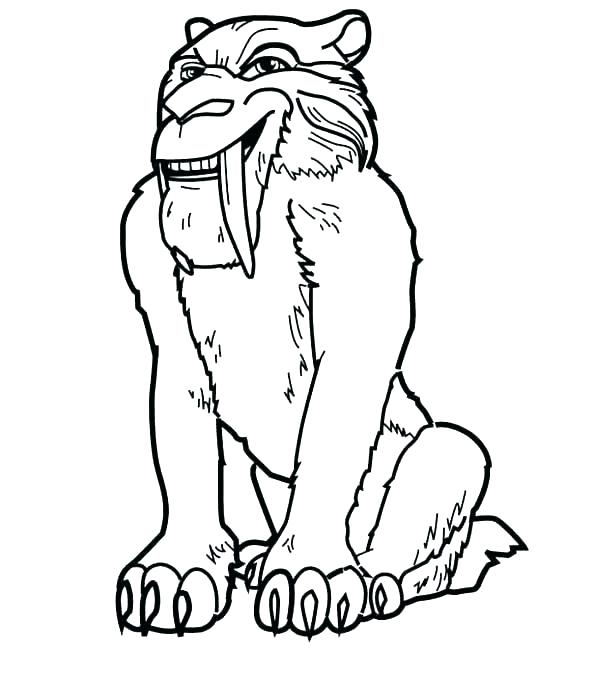 600x686 Tiger Picture To Color Tiger Cub Coloring Pages Tiger Color Page
