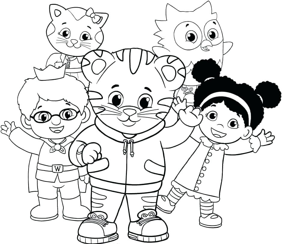 938x811 Tiger Printable Coloring Pages Tiger Coloring Pages Tiger