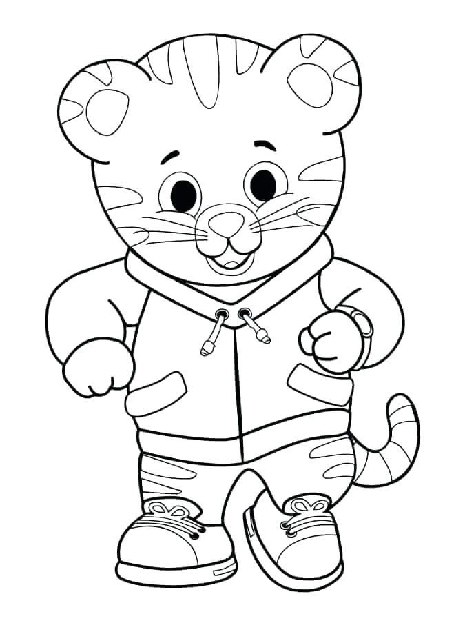 675x900 Tiger Coloring Pages For Kids Tiger Coloring Pages For Kids Tiger