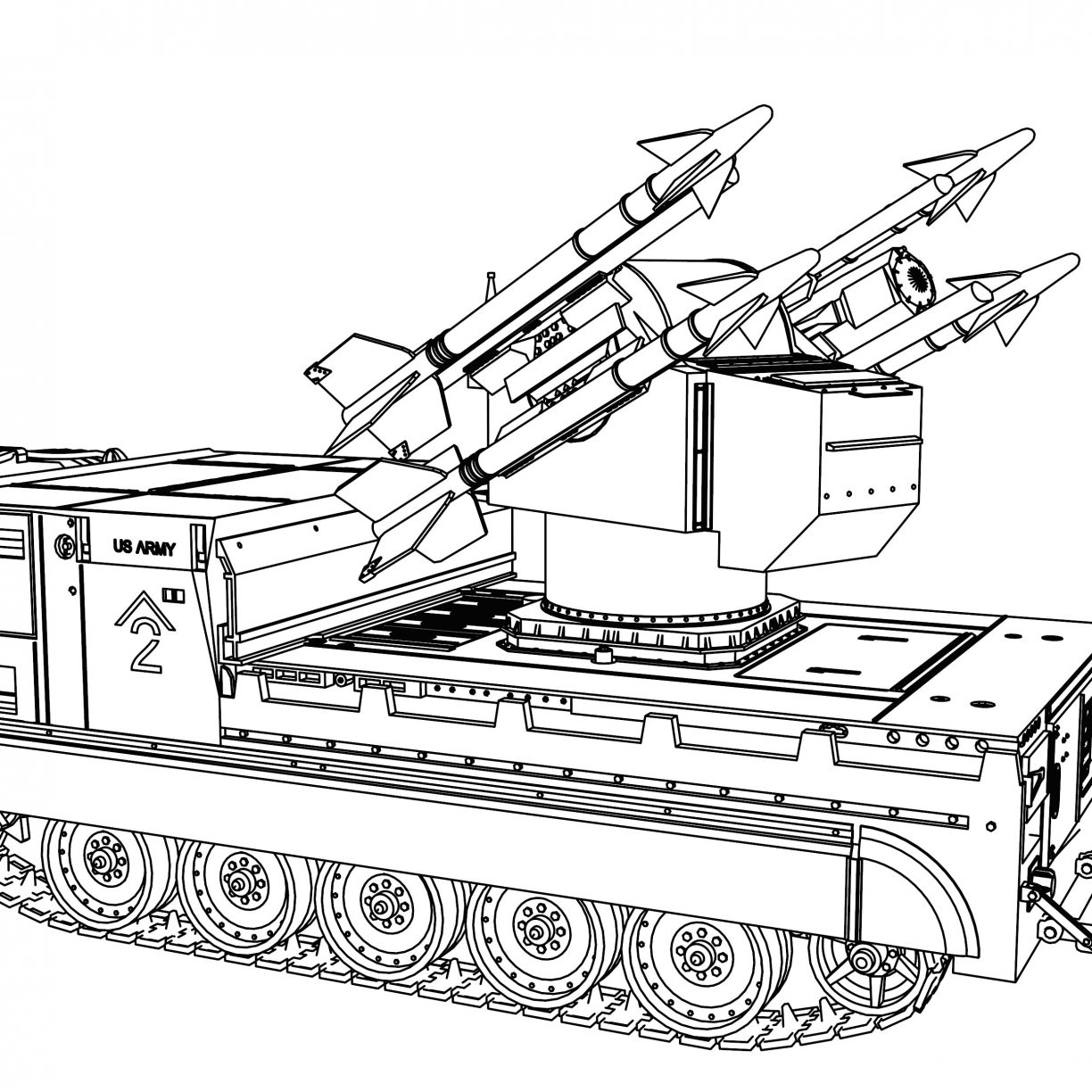 Tiger Tank Coloring Pages at GetDrawings | Free download