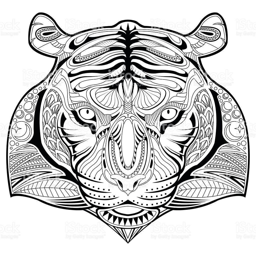 1024x1024 Tiger Tank Coloring Pages Best Of Tiger Face Coloring Page Funny