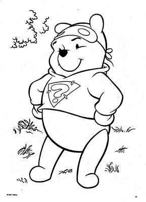 289x400 Jarvis Varnado Disney Coloring Pages Super Hero Pooh