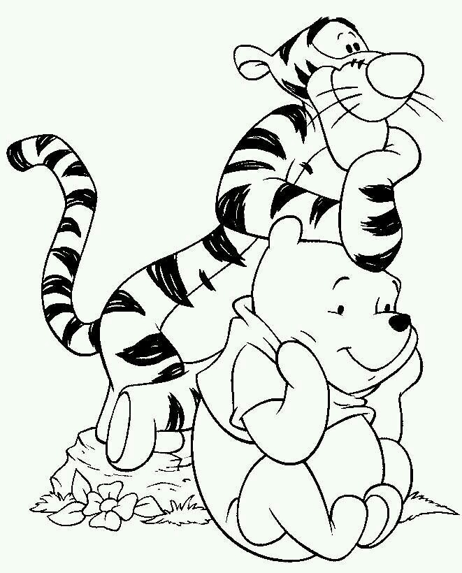 661x820 My Friends Tigger And Pooh Coloring Pages Pin Kimberly Lingle
