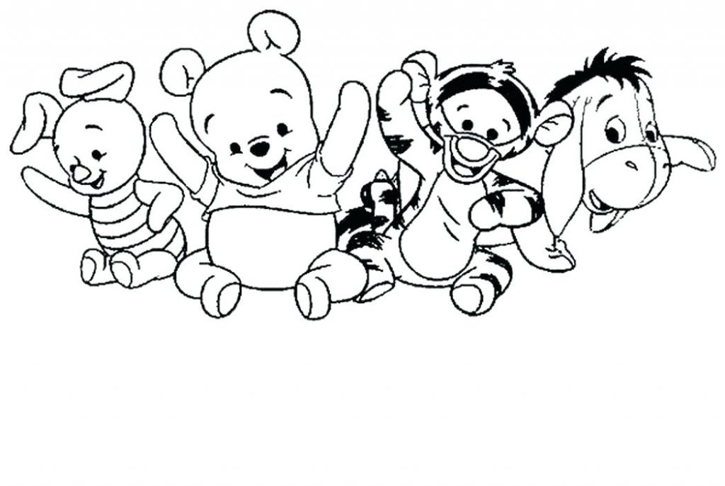 The best free Tigger coloring page images. Download from 237 ...