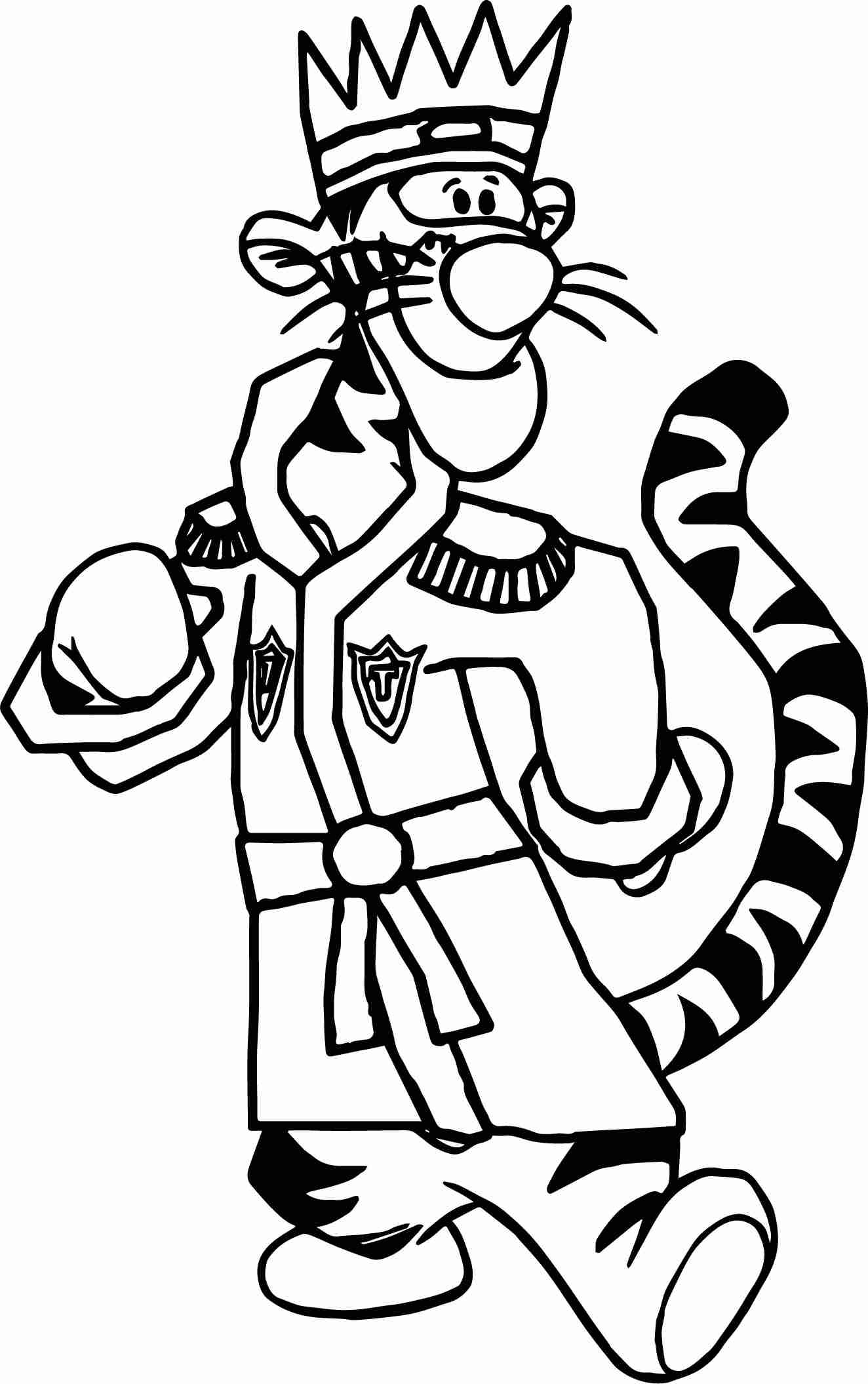Tigger Coloring Pages To Print At Getdrawings Com Free For